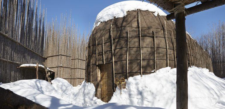 Nuitée maison longue huron-wendat nationale- Musée huron-wendat à Wendake