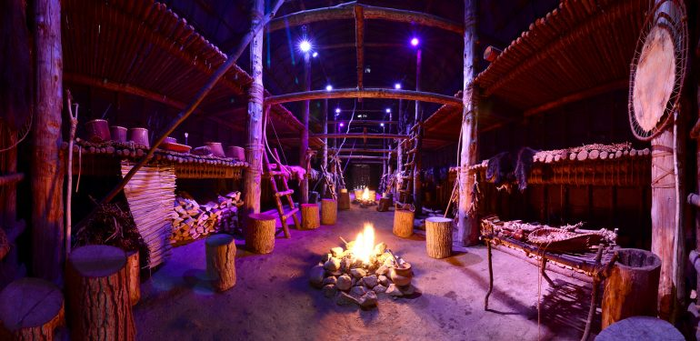 Overnight In The Longhouse
